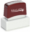MaxLight Custom Pre-Inked Stamp 
